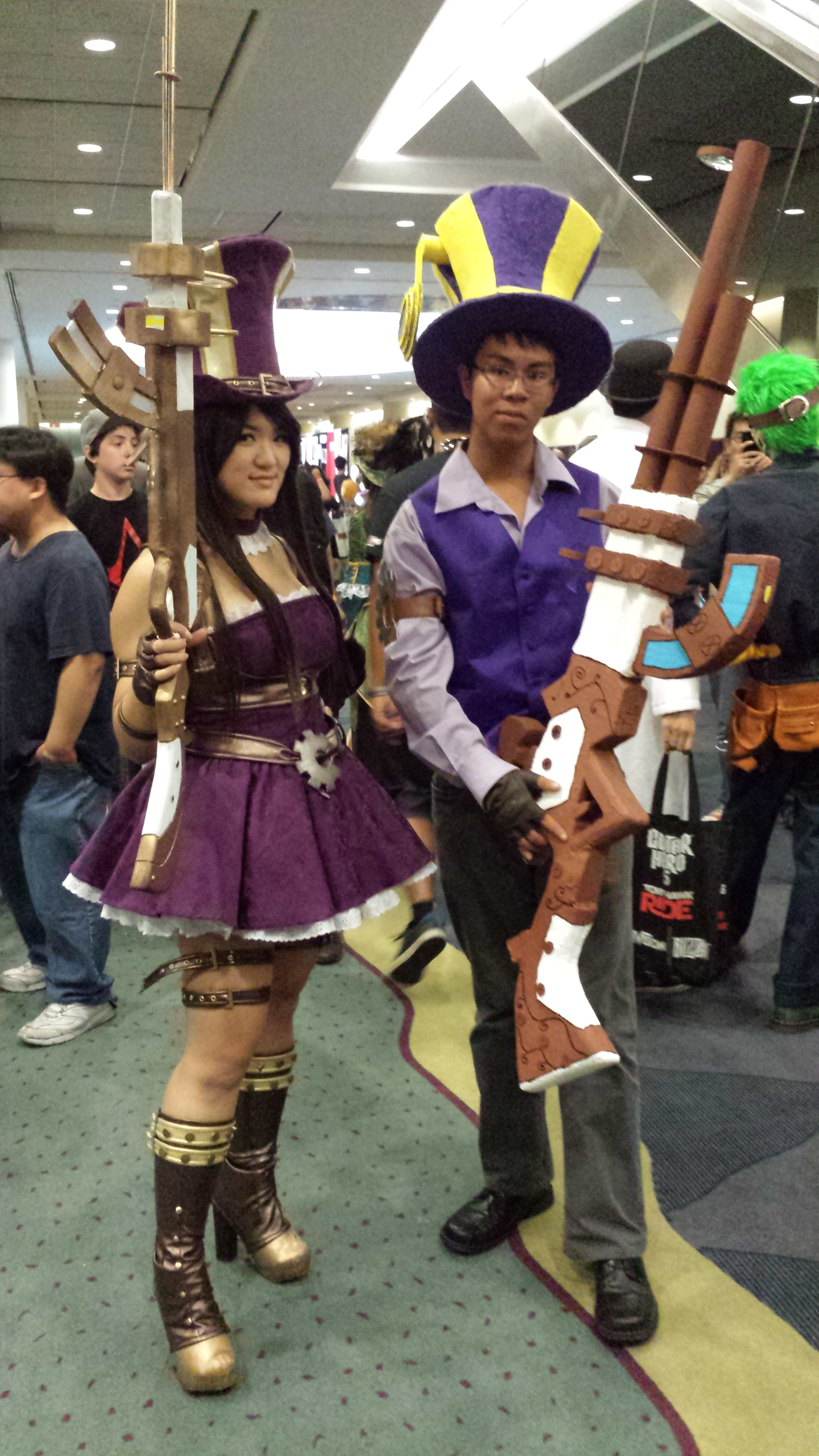 League of legends Caitlyn (male, female verison) by ...