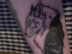 new tat raven/wolf