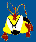 The animated bee from Buzz, Buzz