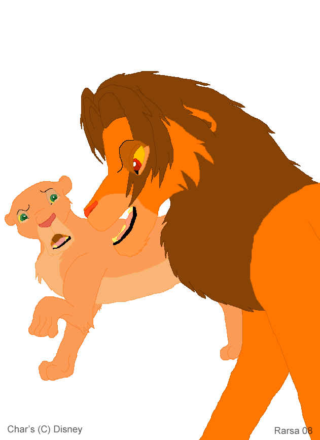 Simba and Nala by rarsa