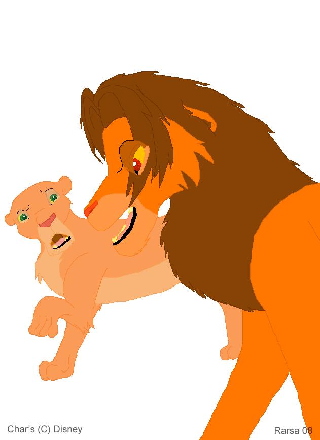 Simba and Nala by rarsa