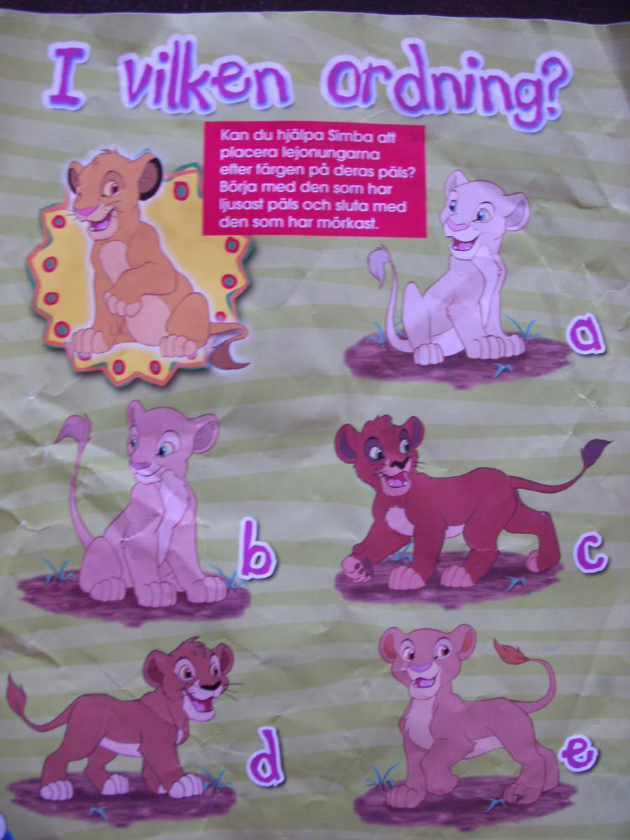 Possible new playmates for Simba and Nala? by rarsa