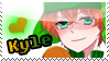 Kyle - South Park Stamp by nniikkiii
