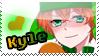 Kyle - South Park Stamp by Nikieu