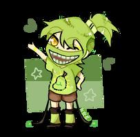 Green Smile by Nikieu