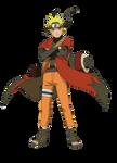 Naruto Sage Mode Render