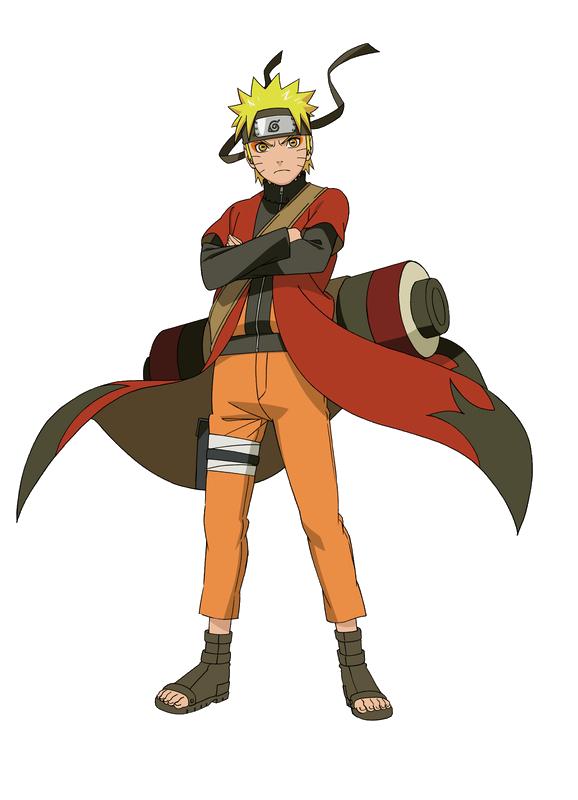 Naruto Sage Mode Render by xUzumaki
