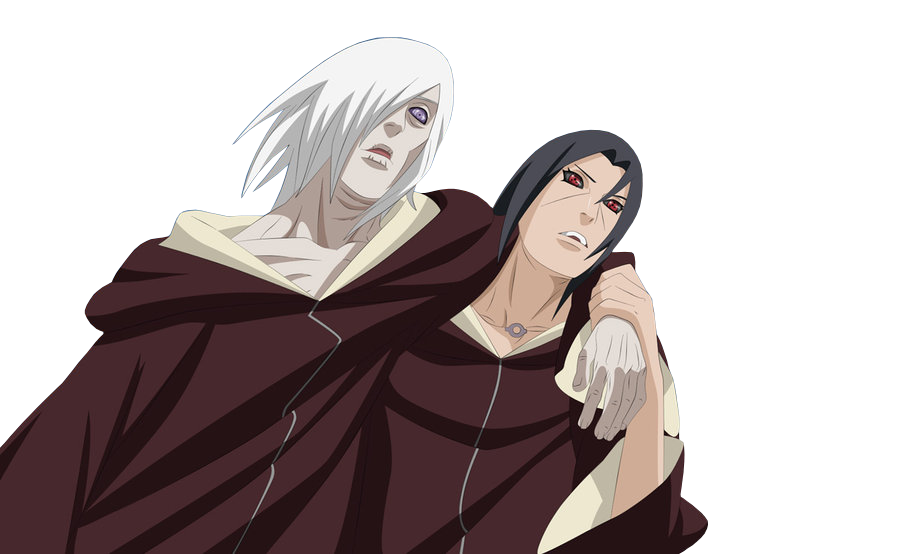 Nagato and Itachi Render by xUzumaki