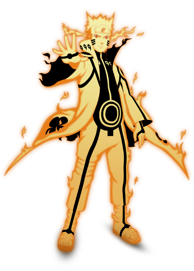 Naruto Kurama mode render by xUzumaki