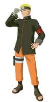 The Last: Naruto Uzumaki Render