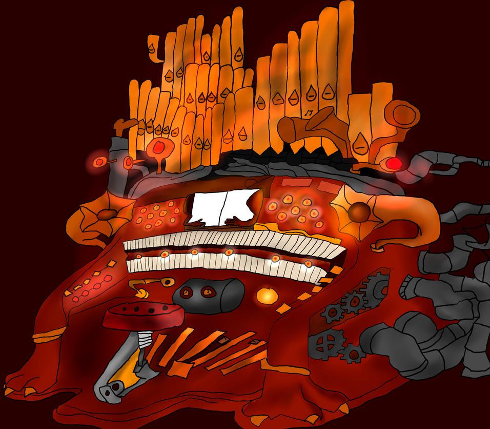 Steampunk organ by VoyagetoDiscover2013