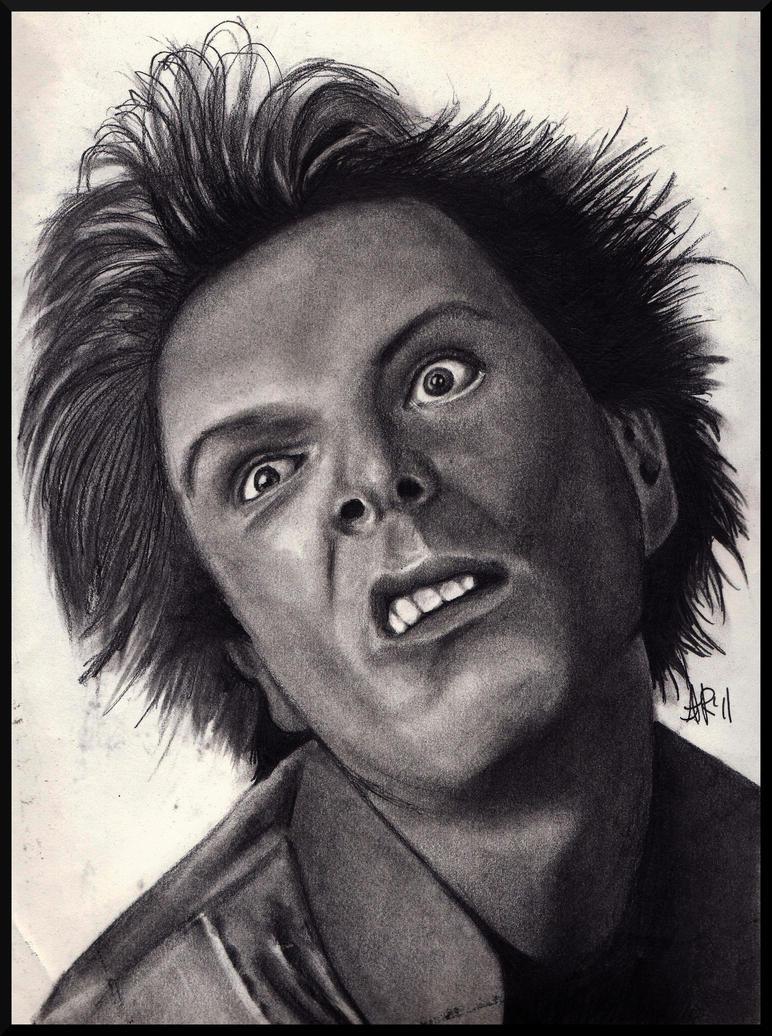 Drop Dead Fred - Rik Mayall by missperple