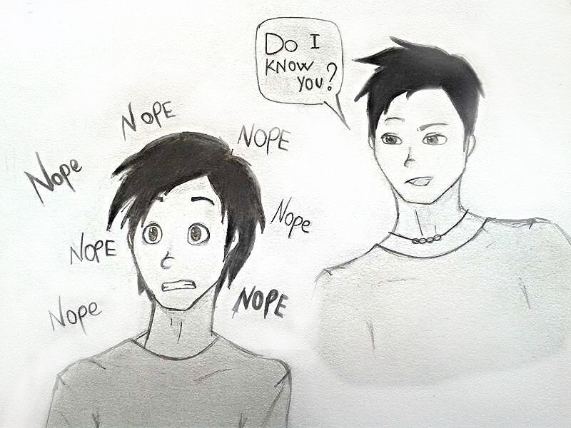 Nope Nope Nico di Angelo and Percy Jackson by AoutOMNE on ...