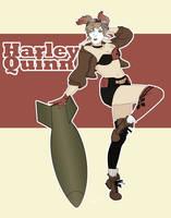 Bombshell Harley by jessalia