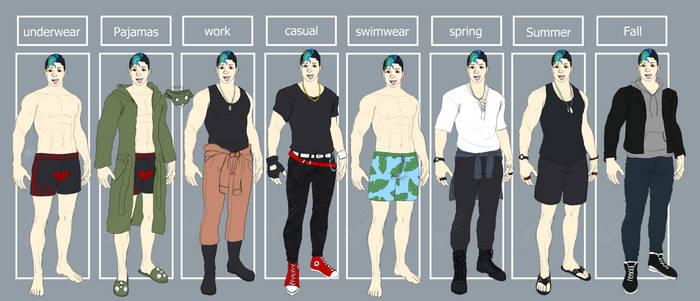 {Ref} Gilbert Fashion pt.1