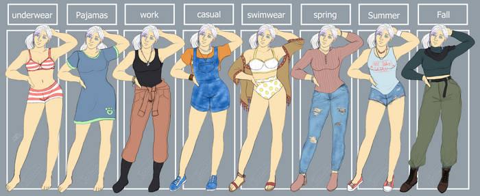 {Ref} Dinah Fashion pt.1