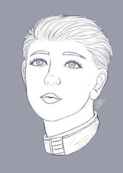 {patreon reward} Shepard portrait