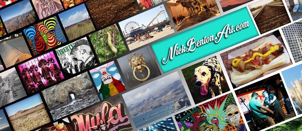 NickBentonArt.com Banner by NickBentonArt