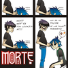 2D MURDOC- Shoe Shine Boy. by morte-forte
