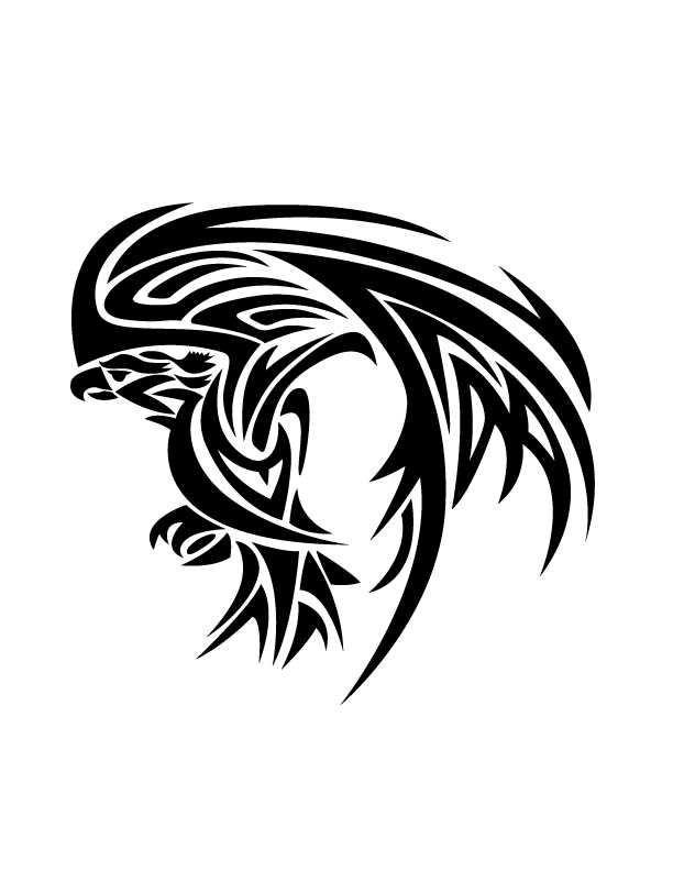 Tribal Eagle by Betaalex on DeviantArt