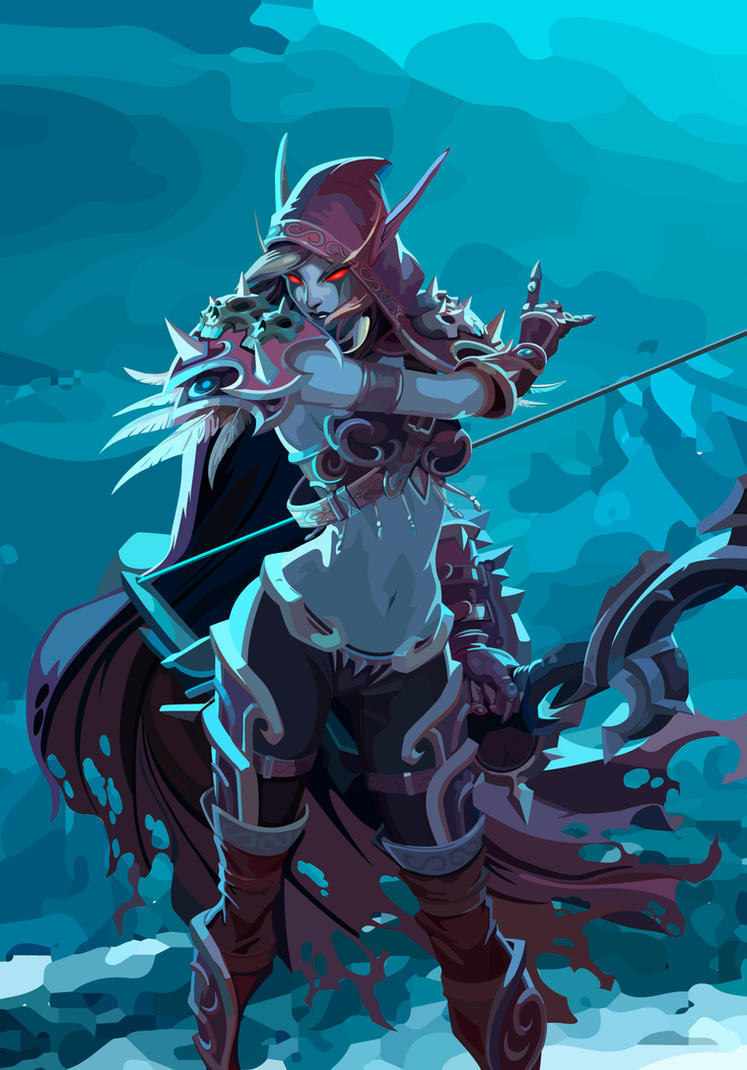 image Sylvanas world of warcraft hmv