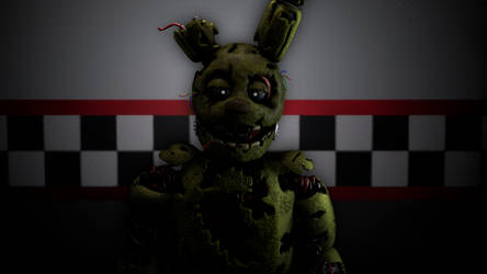 (SFM/FNaF)Springtrap Test by TheDoubleAxe