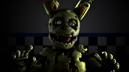 (SFM/FNaF) The Springtrap Mix 2 by TheDoubleAxe