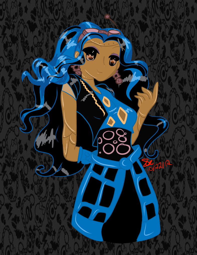 Robecca steam by justwestofweird on deviantart - Monster high robecca steam ...