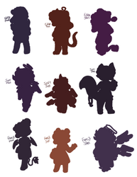 Mystery Chibi Adopts Open by Karma-Doodles