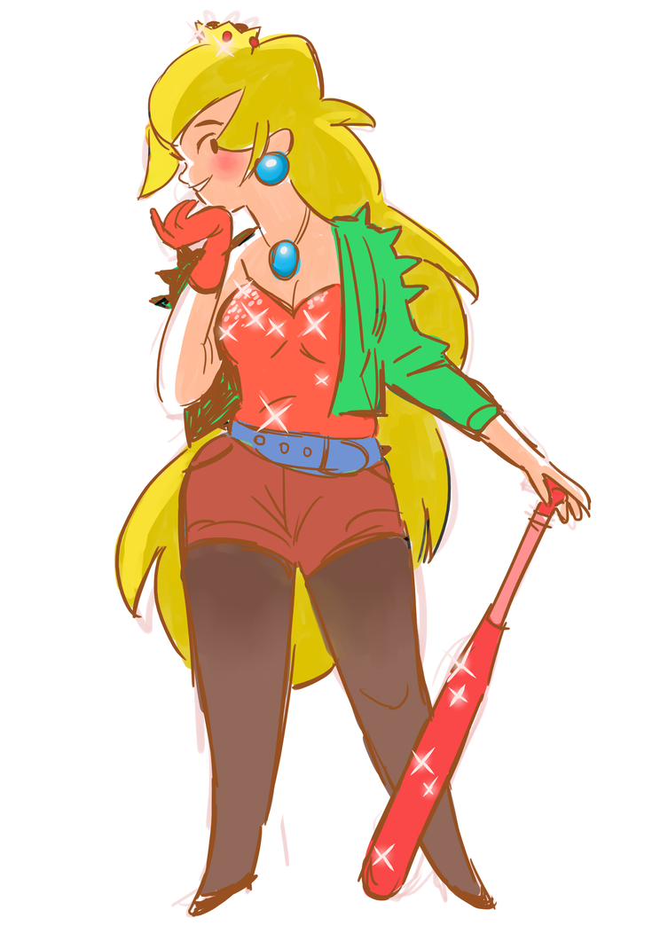peachie by some-hipster