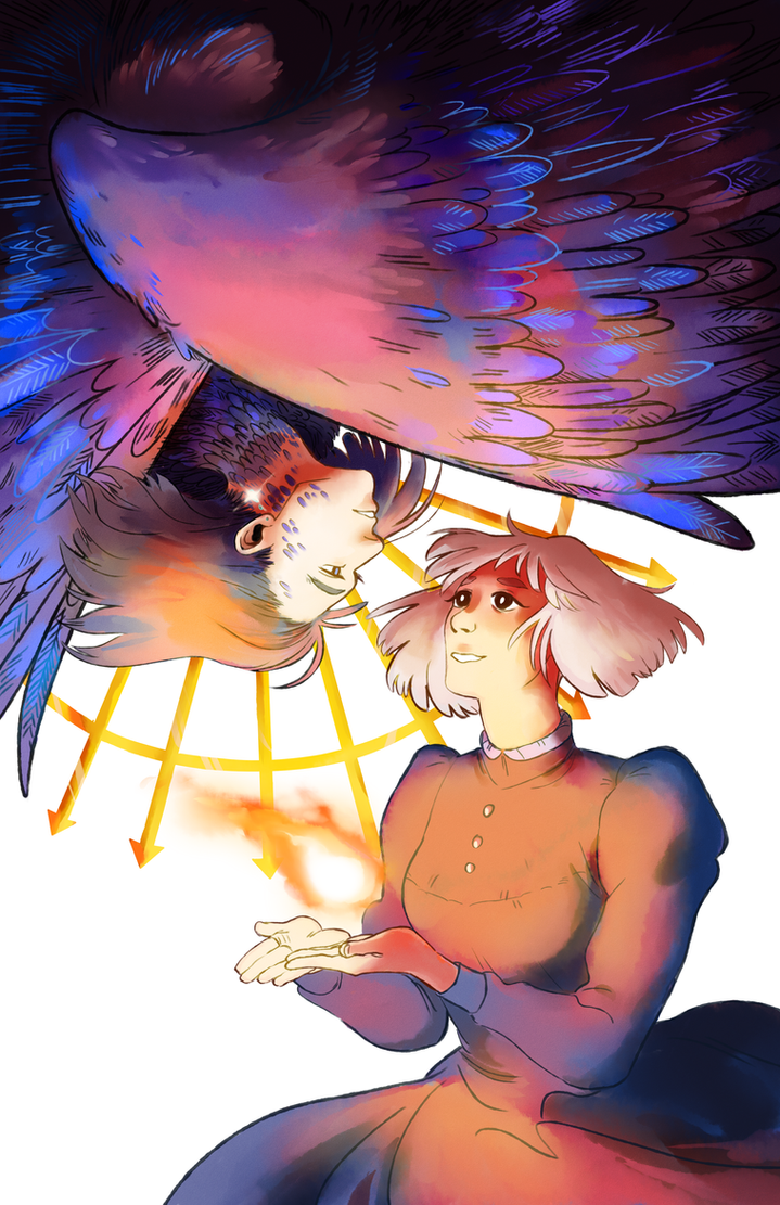 sophie and howl by some-hipster