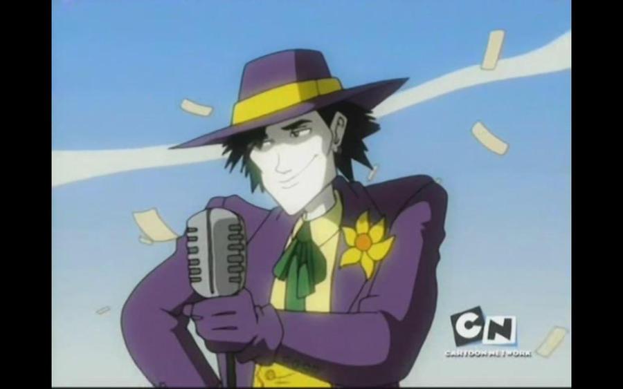 Megas XLR - Jamie as The Joker Jamie Megas Xlr