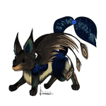 Commission - Peacock Chibi
