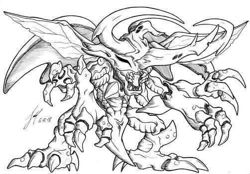 Angry Stag Beetle Digital Monster