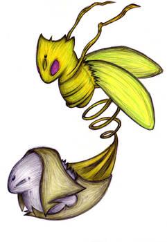 Fakemon - Shedrupt (Venus Form)
