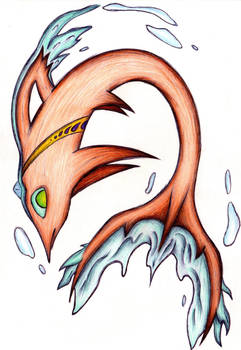 Fakemon - Jewlphin (Venus Form)