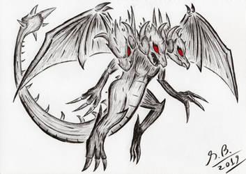 Day 29 - Doom Dragon [Inktober 2019]