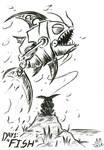 Day 1: FISH [Inktober 2020] by Hyper-Shan