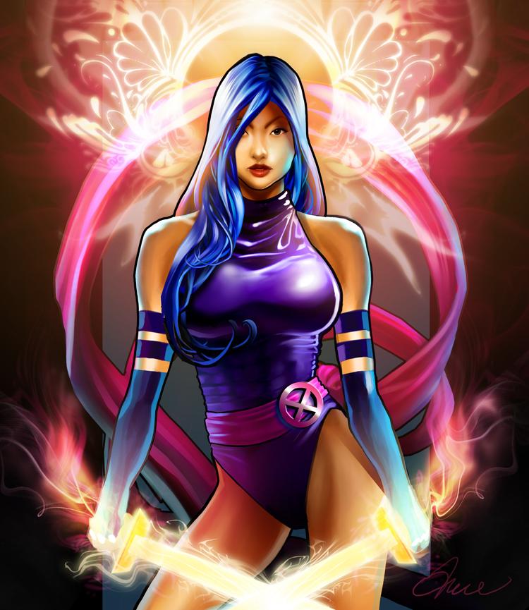 Psylocke by Ty Romsa