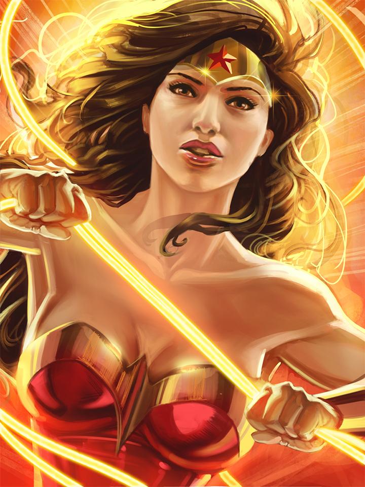 Wonder Woman 2017 by TyRomsa