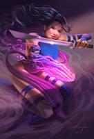Psylocke by TyRomsa