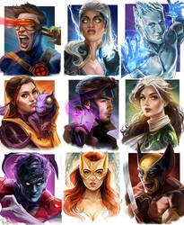 X-Men Series Portraits