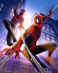 Peter Parker and Miles Morales, Spidermen
