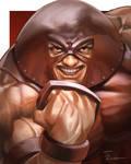 Juggernaut Portrait Painting