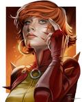 X-Men Rachel Summers Portrait