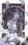Zatanna Marker Sketch