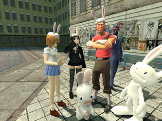 Year of the Rabbid by T-Money2012