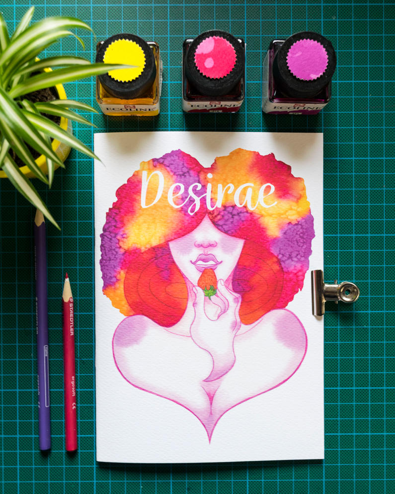Desirae artbook for sale!