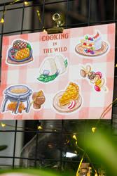 botw cooking sticker sheet