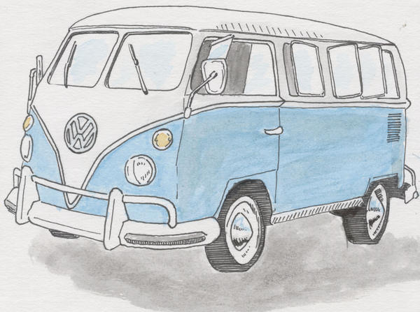 VW Camper by steventudor